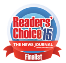 2015 Delaware News Journal Readers Choice Finalist in Wedding Music